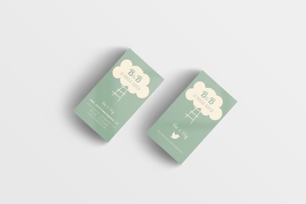 Business Card Mockup 15 (Free Version)